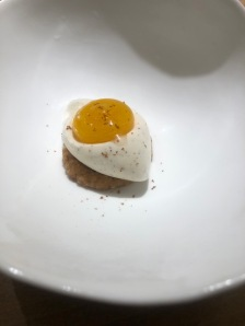 egg yolk custard
